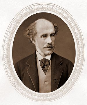 First Commissioner of Works - Image: William Cowper Temple, Lock & Whitfield woodburytype, 1876 85