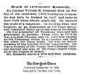 William H. Kennedy (1837-1892) obituary in the New York Times on September 18, 1892.pdf