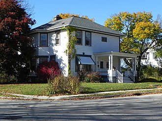 Hartford, Wisconsin - William L. Kissel House
