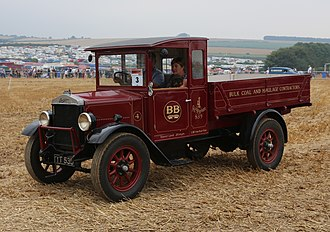 Willys Overland Crossley - A 1927 Willys Overland Crossley lorry