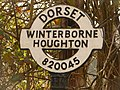 Winterborne Houghton, finger-post detail - geograph.org.uk - 1752509.jpg