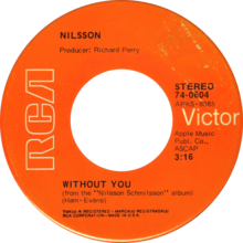 Without You by Harry Nilsson Side-A US vinyl.png