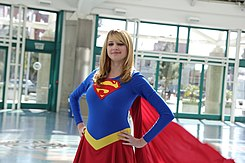 Wondercon 2016 - Supergirl Cosplay (25478352823).jpg