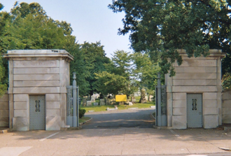 The Woodlands (Philadelphia) - Gate to Woodlands designed by Paul Philippe Cret