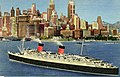 World's Largest Liner arrives in New York Harbor, Queen Elizabeth (NBY 2159).jpg