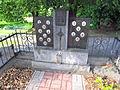World Wars victim memorial in Přešovice, Třebíč District.JPG