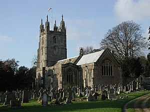 Grade I listed buildings in North Somerset - Image: Wraxall All Saints Church