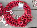 Wreath laid on behalf of Queen Elizabeth II at Liverpool Cenotaph.JPG