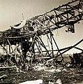 Wreckage of a giant German transport plane near Tunis, 1943 (27564661956).jpg