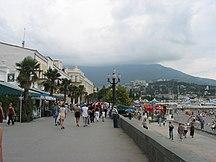 Krim-Städer-Fil:Yalta Sea Promenade