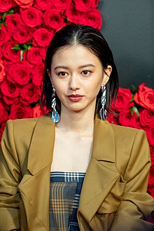 "Yamamoto Maika from ""Gangoose"" at Opening Ceremony of the Tokyo International Film Festival 2018 (30677699357).jpg"
