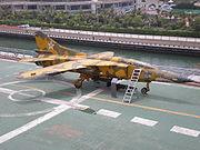 Yellow Mig-23 MW