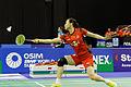 Yonex IFB 2013 - Quarterfinal - Tian Qing - Zhao Yunlei vs Misaki Matsutomo - Ayaka Takahashi 04.jpg