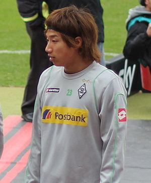 Yūki Ōtsu - Image: Yuki Otsu 2012 Borussia Mönchengladbach (cropped)