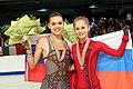 Yulia Lipnitskaya and Adelina Sotnikova 2014.jpg