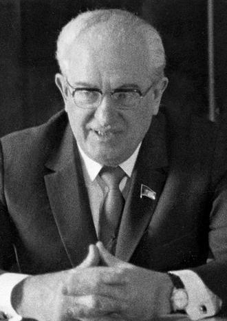 Yuri Andropov - Yuri Andropov in 1974