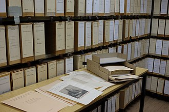 20th Century Press Archives - Press archives (folders from persons archive, 2015)