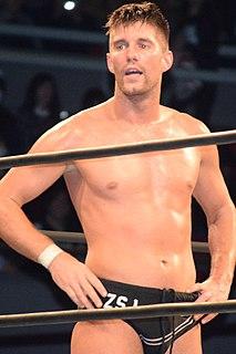 Zack Sabre Jr. British professional wrestler