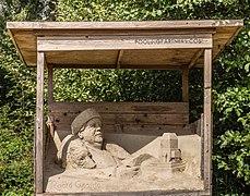 Zandsculpturen in het Kuinderbos (Flevoland). 31-08-2020. (actm.) 07.jpg