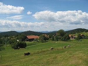 Zavrh pri Borovnici - Image: Zavrh pri Borovnici