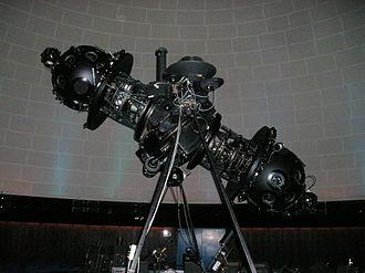 Montreal Planetarium - The Zeiss planetarium projector.