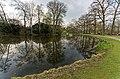 Zeist - Karpervijver - English Park bij Slot Zeist 1831 by Jan David Zocher jr. - Slot Zeist (1677-1686) by Jacobus Roman 21.jpg