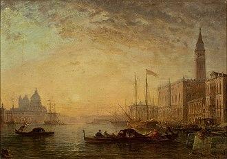 Félix Ziem - Image: Ziem O Canal Grande em Veneza