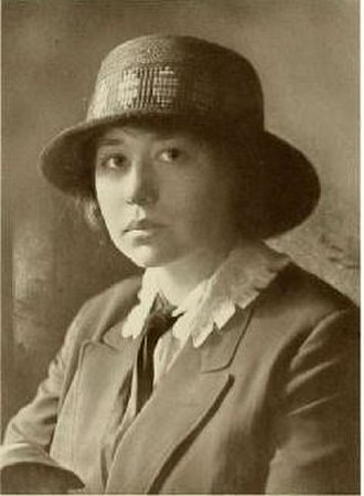 Zoe Akins - Zoe Akins, Kajiwara Photo, Notable women of St. Louis, 1914
