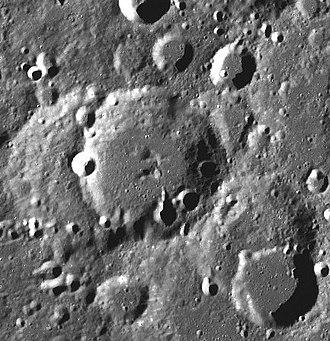 Zsigmondy (crater) - LRO image