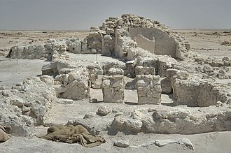 Zubarah - Ruins in Zubarah.