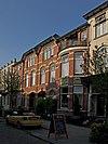Twee woonhuizen in Art Nouveau-stijl