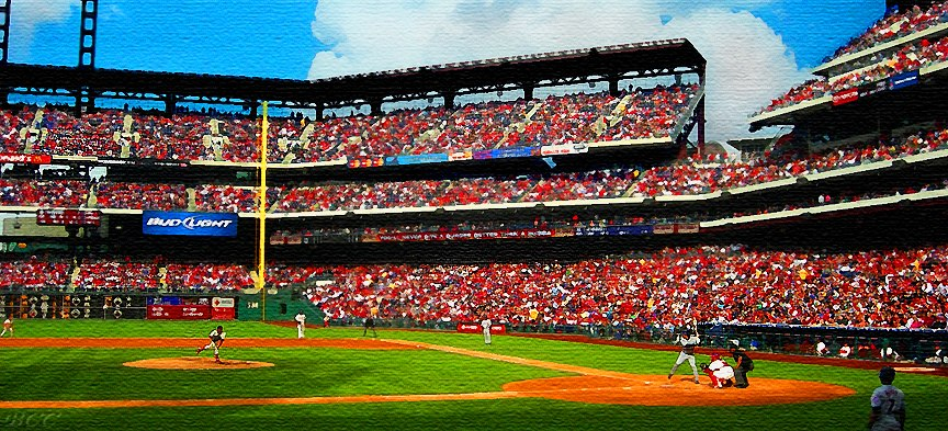 """""""Full House at Citizens Bank Park"""""""