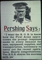 """Pershing says, ""I want S.O.S. to know how the First Army appreciates the prompt response made to every demand for... - NARA - 512615.tif"