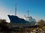 """Sea Profiler"" awaiting demolition at New Holland - geograph.org.uk - 2652425.jpg"