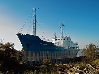 similarly named ship of the British Antarctic Survey that served in the 1950s and 1960s