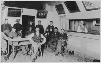 Fort Keogh - Canteen at Ft. Keogh, 1890–1894