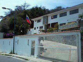 2014 Venezuelan protests - Home of former general Ángel Vivas.