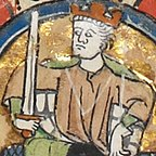 Fourteenth-century depiction of Æthelberht