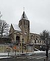 Église Saint-Germain-de-Charonne (Paris) sous la neige 02.jpg