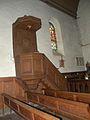 Église Saint-Rémi de Savignies chaire.JPG