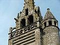 Église St-Miliau, détail du clocher.JPG
