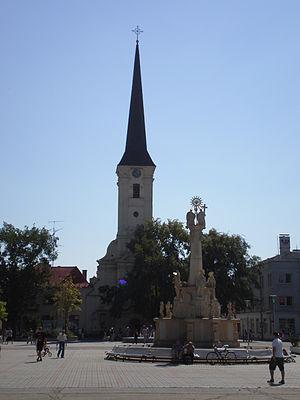 Nové Zámky - Nové Zámky Catholic Church.
