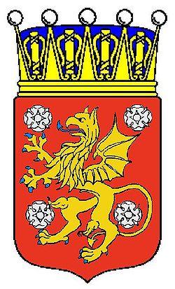 Østerrøvlandes våben med krone.   JPG