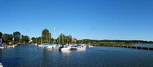 Ückeritz, Hafenbecken von Westen