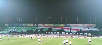 Legia Warsaw - The old Żyleta stand