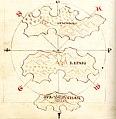 Χάρτης των νησιών Στρόμπολι, Λίπαρι και Βουλκάνο - Millo Antonio - 1582-1591.jpg
