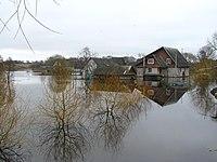 Весенний разлив реки Дрыса. Верхнедвинск. Drysa River spill. Verkhnedvinsk. - panoramio (4).jpg