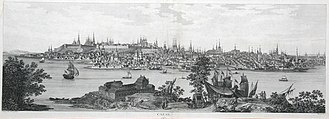 Kazan - A view of the city c. 1767