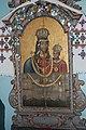 Волинське село Секунь - каплиця на кладовищі. Ікона Божої Матері, яку реставрував Т. Шевченко в жовтні 1846 року.jpg