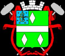 Герб Артёмовска (Кене)— три кристалла соли